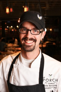Kevin Hermann, Executive Chef at the Porch at Schneley