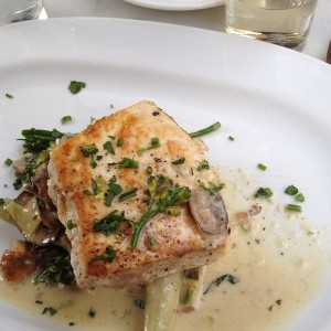 Summer Foodspotting Winner - Swordfish Piccata from Meat and Potatoes by Ryann June