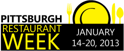 Pittsburgh Restaurant Week Winter 2013 Dates