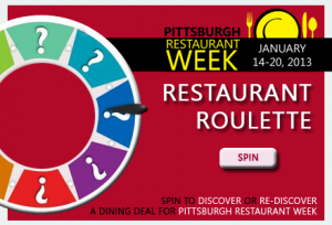 Take a Spin on the Restaurant Roulette Wheel