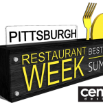 Pittsburgh Restaurant Week Award Rendering by Cenzo Design