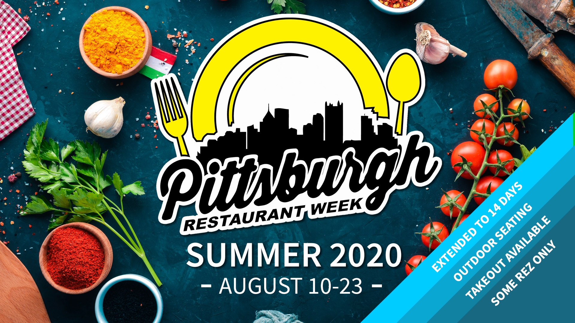 Pittsburgh Restaurant Week Summer 2020 Extended