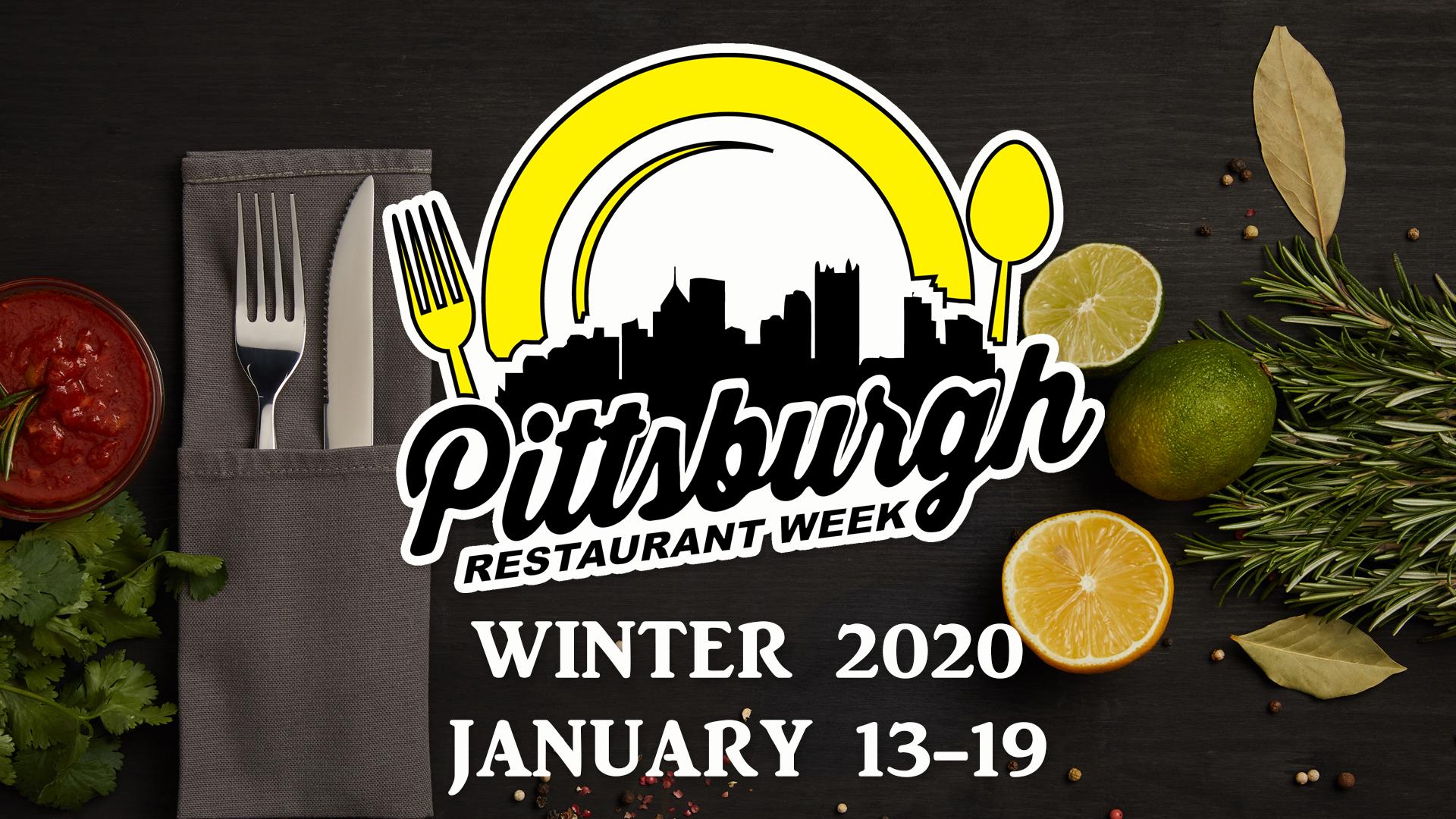 Pittsburgh Restaurant Week Winter 2020